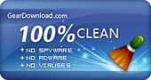 Tested 100% Clean, GearDownload.com
