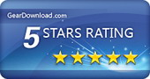 5 Star Award by GearDownload.com