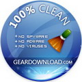 Geardownload 100% CLEAN award