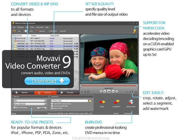 Kostenlos movavi video converter 1610 serial