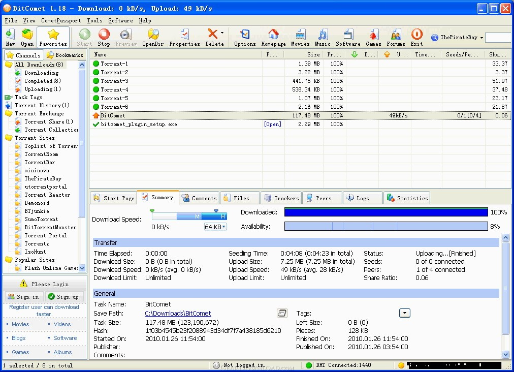 Download bitcomet 1. 50 filehippo. Com.