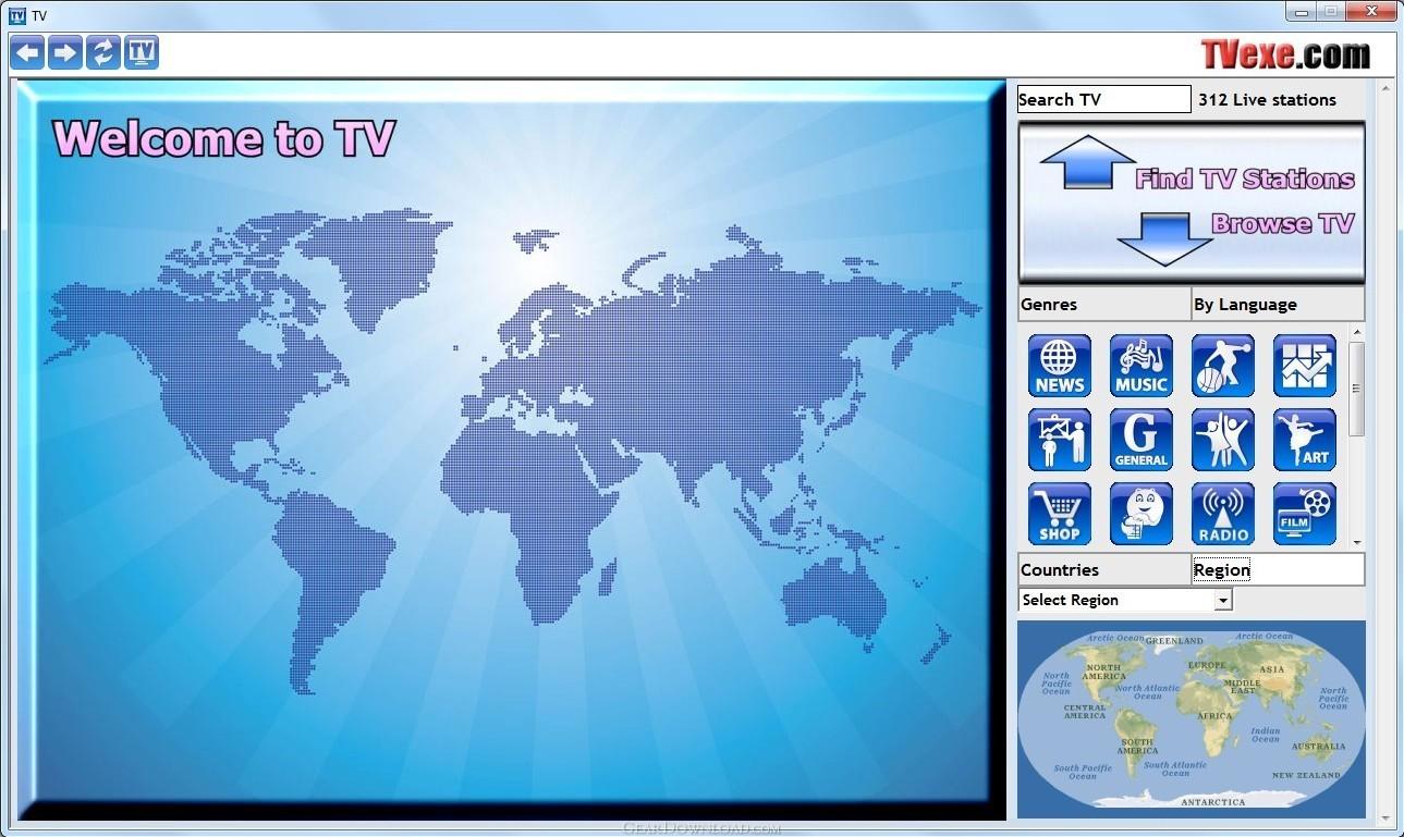 Tvexe TV HD