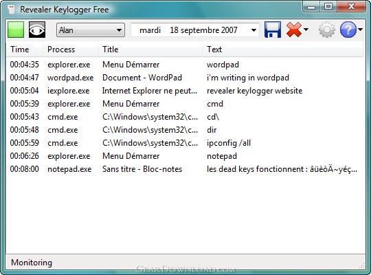 revealer keylogger free edition 1.35