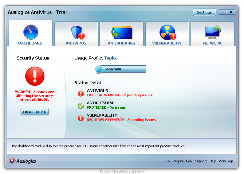 BitDefender Antivirus screenshot medium.