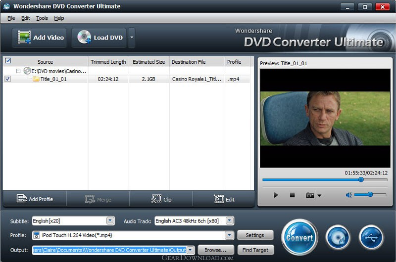Wondershare DVD Converter Ultimate is an all-in-one DVD Video