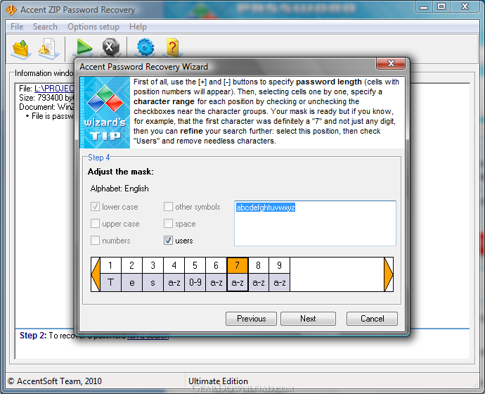 winzip password recovery free download full version