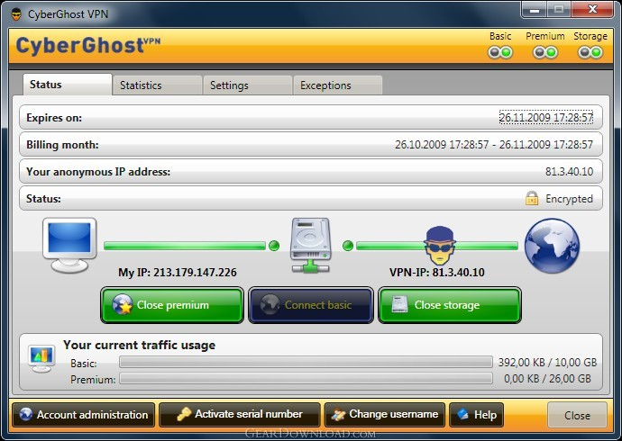 Download Cyberghost