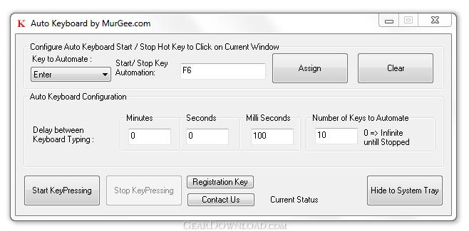 Auto Keyboard 1.1 скачать - Использование авто клавиатура программное обесп