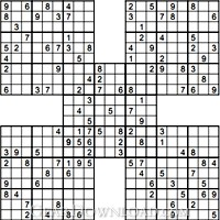 graphic relating to Mega Sudoku Printable titled sudoku for children printable: Webpage Printable Medium Sudoku