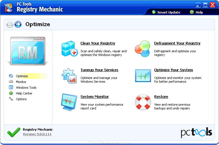 Registry Mechanic Screenshot 1