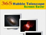365 Hubble Telescope Screen Saver Screenshot