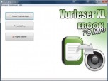 Vorleser XL - EbookToMP3 Screenshot