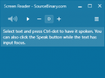 Screen Reader Screenshot