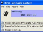 River Past Audio Capture Screenshot