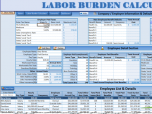 Labor Burden Calculator