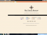 The Classic Browser Screenshot