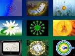 7art Clock Bundle ScreenSaver Screenshot