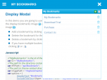 My Bookmarks using VB and MVC