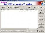Bingo! RM MP3 to CD Maker Burner