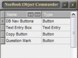 NeoBook Object Commander Screenshot