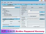 KRyLack Archive Password Recovery Screenshot