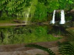 Spring Waterfall 3D Screensaver