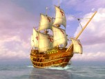 Sea Voyage 3D Screensaver Screenshot