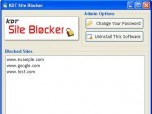 KDT Site Blocker Screenshot