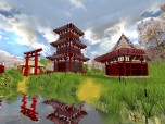 Japanese Garden 3D Screensaver