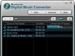 Daniusoft Digital Music Converter Screenshot