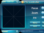 PTZ Controller Screenshot