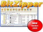 BitZipper - WinRAR & WinZip replacement Screenshot