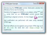 HTMLLabel for Windows Forms