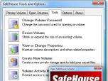 SafeHouse Professional File Encryption Screenshot