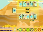 Egyptian Caribbean Poker Screenshot