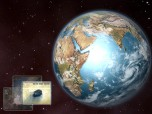 Earth 3D Space Screensaver