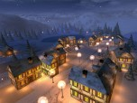 Winter Night 3D Screensaver Screenshot