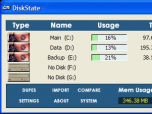 DiskState Screenshot