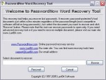PasswordNow Word Recovery Tool