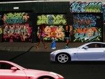 Hip Hop, Graffiti, and Cars  Screensaver Screenshot