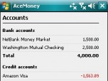 AceMoney for Pocket PC Screenshot