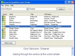 Kazaa & LimeWire Lyric Finder