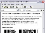 SmartCodeComponent2D Barcode