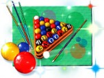 Bubble Snooker Screenshot