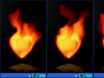 Fire Heart Desktop Gadget