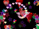 DX Valentine Hearts Screenshot