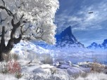 Winter Lake - Animated Wallpaper Screenshot