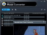 Wondershare Music Converter Screenshot