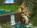 Watermill by Waterfall Screensaver
