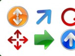 Icons-Land Vista Style Arrow Icon Set